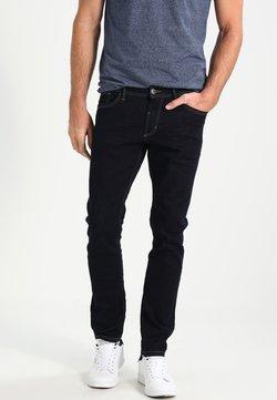 TOM TAILOR - 5 POCKET PANTS - Straight leg jeans - rinsed blue denim