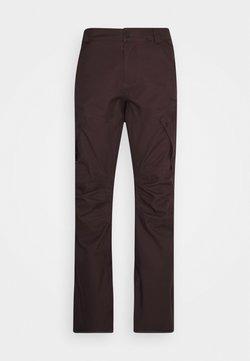 Volcom - ARTICULATED PANT - Pantaloni da neve - black/red