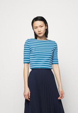 Lauren Ralph Lauren - T-Shirt print - captain blue/white