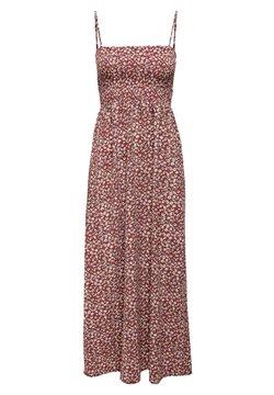 ONLY - BEDRUCKTES - Maxi dress - red