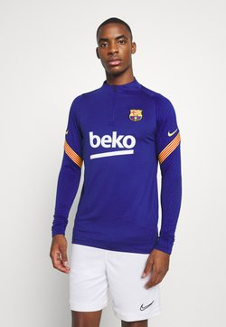 Nike Performance - FC BARCELONA DRY  - Equipación de clubes - deep royal blue/amarillo