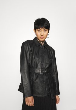 Deadwood - TYRA JACKET - Kurtka skórzana - black