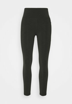 Sweaty Betty - SUPER SCULPT 7/8 YOGA LEGGINGS - Medias - dark forest green