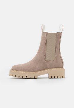 LÄST - DAZE - Platform ankle boots - taupe