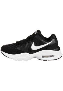 Nike Sportswear - AIR MAX FUSION - Sneaker low - black / white