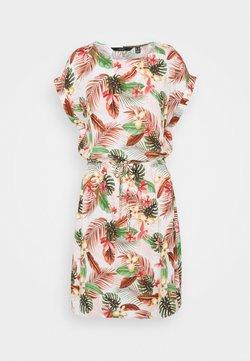 Vero Moda Tall - VMSIMPLY EASY TIE SHORT DRESS - Korte jurk - birch/selma