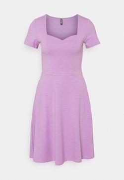 Pieces - PCANG DRESS - Sukienka z dżerseju - sheer lilac