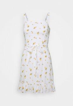 Hollister Co. - VOL DRIVE BARE DRESS - Robe d'été - white