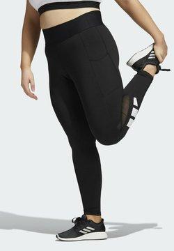adidas Performance - TF L BAR T PS - Tights - black
