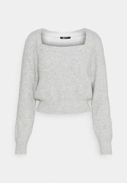 Gina Tricot - KIM - Sweter - grey melange
