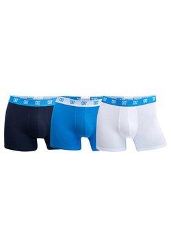 Cristiano Ronaldo CR7 - SEASONAL BASIC TRUNK 3 PACK - Panties - blue/dark blue/white