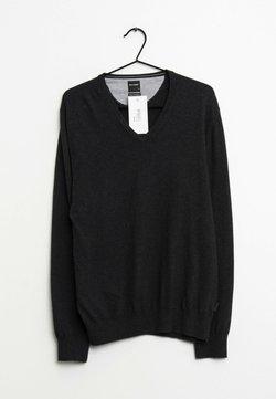 OLYMP - Strickpullover - black
