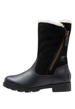 Sorel - EMELIE FOLD-OVER - Snowboots  - black