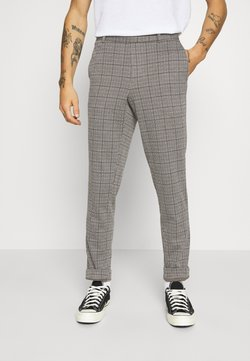 Only & Sons - ONSELIAS CHECK  PANTS - Stoffhose - beige