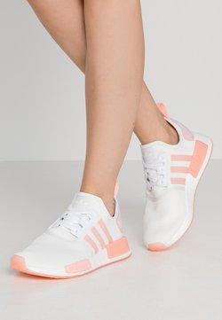 adidas Originals - NMD_R1  - Matalavartiset tennarit - footwear white/haze coral