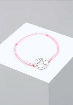 Elli - WELTKUGEL GLOBUS REISE  - Bracelet - silver