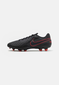 Nike Performance - TIEMPO LEGEND 8 ACADEMY MG - Fußballschuh Nocken - black/dark smoke grey/chile red