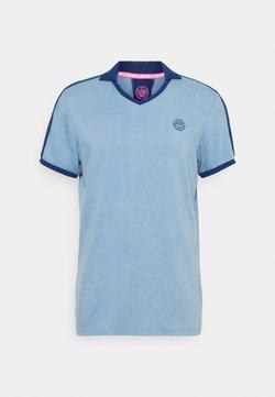 BIDI BADU - T-shirt con stampa - blue denim/dark blue