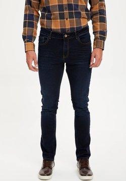DeFacto - Jeans Slim Fit - indigo