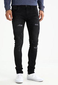 INDICODE JEANS - PALMDALE - Jeans Slim Fit - black