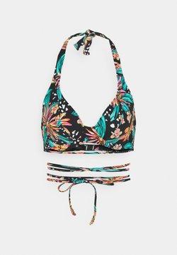 Freya - WILD DAISY HALTER - Bikini-Top - multi