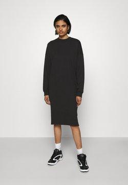 Monki - MINDY DRESS - Sukienka z dżerseju - black solid