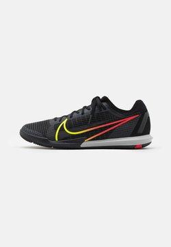 Nike Performance - MERCURIAL ZOOM VAPOR 14 PRO IC - Indoor football boots - black/cyber/off noir