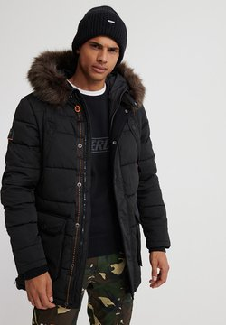 Superdry - CHINOOK - Wintermantel - black