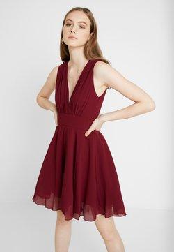 TFNC - NORDI MINI SKATER - Cocktail dress / Party dress - burgundy