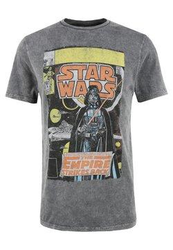 Re:Covered - STAR WARS EMPIRE STRIKES BACK - T-Shirt print - grau