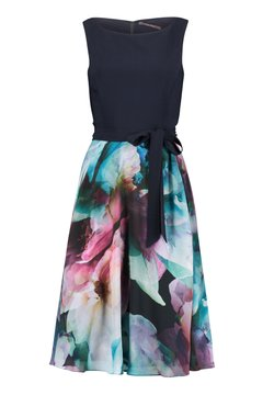 Vera Mont - Cocktailkleid/festliches Kleid - dark blue/pink