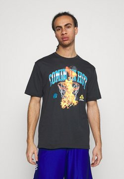 Under Armour - CURRY COMING IN HOT TEE - T-Shirt print - black