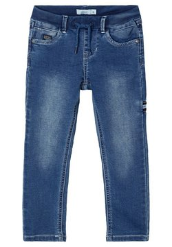 Name it - SWEATDENIM - Straight leg jeans - dark blue denim