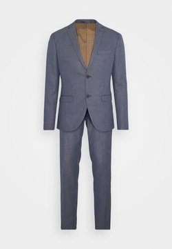 Isaac Dewhirst - TEXTURE SUIT - Puku - blue