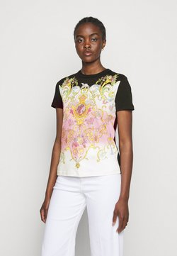 Versace Jeans Couture - LADY - T-Shirt print - black/pink