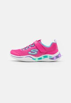 Skechers - POWER PETALS - Sneaker low - neon pink/multicolour