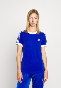 adidas Originals - T-shirt print - team royal blue/white