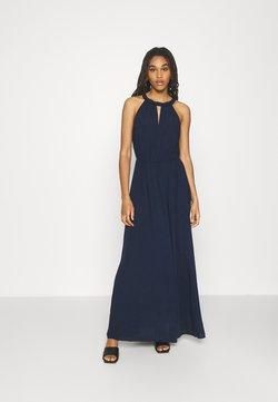 Vila - VIMESA BRAIDED DRESS - Maxikleid - navy blazer