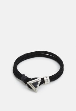 Icon Brand - TRIANGULATION BRACELET - Armband - black