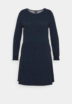 Dorothy Perkins Curve - MINI DRESS - Jerseykleid - black