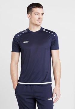 JAKO - TRIKOT STRIKER 2.0 - T-Shirt print - marine/weiß