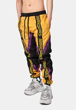 SEXFORSAINTS - TRI-COLOURED RACE PANT - Jogginghose - mustard yellow