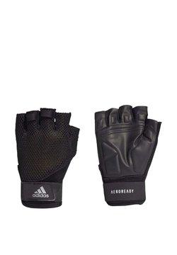 adidas Performance - TRAINING GLOVES - Mitones - black