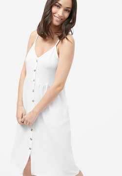 Next - STRAPPY DRESS - Korte jurk - white