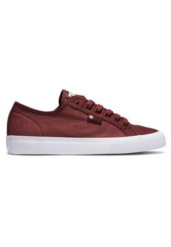 DC Shoes - MANUAL - Sneakers laag - burgundy