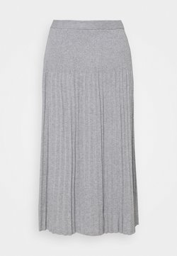 MICHAEL Michael Kors - PLEAT SKIRT - Spódnica plisowana - light grey