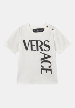 Versace - LOGO UNISEX - Camiseta estampada - bianco/nero