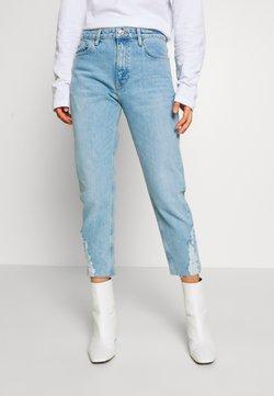 Topshop - DUNDEE  - Straight leg jeans - bleach
