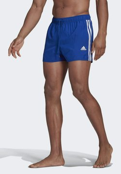 adidas Performance - CLASSIC 3-STRIPES   - Szorty kąpielowe - blue