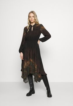 Desigual - VEST MILAN - Day dress - black